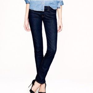 J. Crew | dark wash matchstick jeans | 26